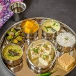 Gujarati Thali – A Meal from Indian State of Gujarat