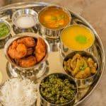 Maharashtrian Thali, Maharashtrian Food, Maharashtrian Cuisine, Prawn Koliwada, Varan, Thali, Kosimbir, Egg Rassa, Basundi, Dudhi ki sabzi