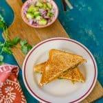 Veggie Cheese Sandwich ~ Fusion Sandwich