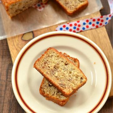 Banana Nut Bread, Banana Nut Bread with Sour Cream, Martha Stewart's Best Banana Bread, Martha Stewart's Banana Nut Bread with Sour Cream, Bakeathon, Baking, Bakes with Ripe Banana s,