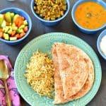 Beerakaya Alshantha Kaya Koora ~ Ridge Gourd Fresh Black-Eyed Peas Curry