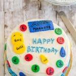 Vanilla Cake ~ 1-2-3-4 Cake ~ Birthday Cake