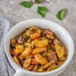 Radish Stir Fry ~ Mooli Stir Fry