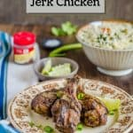 Oven Cooked Jamaican Jerk Chicken