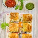 Bombay Grilled Vegetable Sandwich