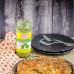 Stovetop Pan Handvo ~ Spicy Mixed Lentil Rice Cake