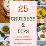 25 Mouthwatering Chutneys & Dips