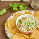 Cottage Cheese Guacamole Dip & Spread