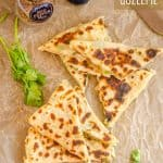 Turkish Patatesli Gozleme, Potato Stuffed Flatbread