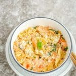 Salmon Farfalle Pasta – Simple Summer Meal