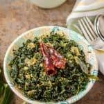 Sri Lankan Kale Mallung Recipe