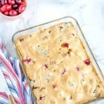 Fresh cranberry Christmas cake is a tangy & sweet cake