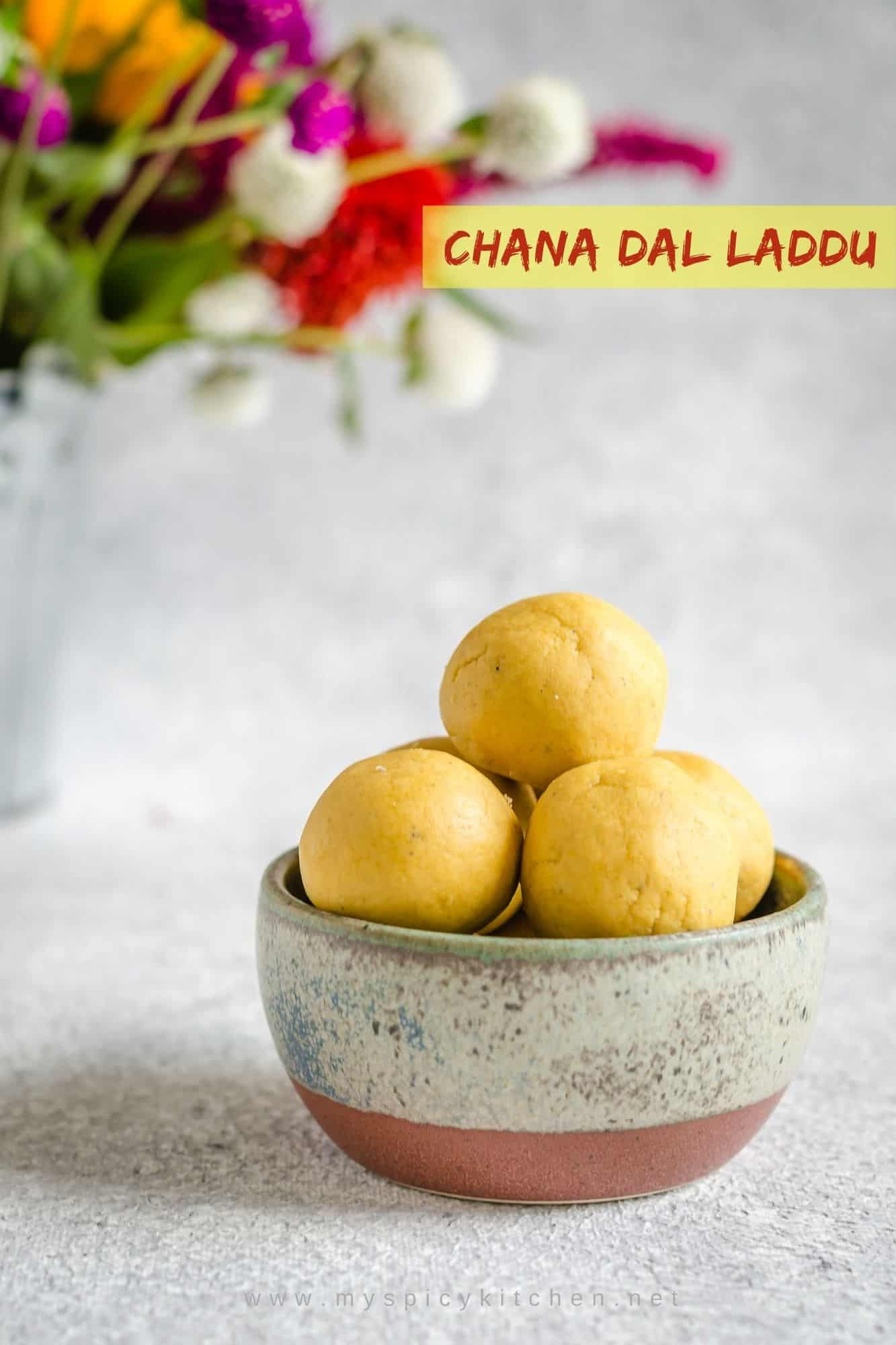 Senaga Pappu Laddu ~ Chana Dal Laddu