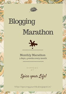 Blogging Marathon Logo.